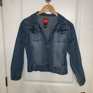 Guess Jeans stretchy denim jean jacket
